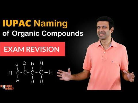 IUPAC Nomenclature of Organic Chemistry