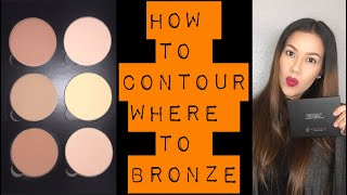 CONTOUR AND BRONZING TIPS/Slimming you face