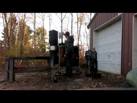 Vulcan Gasifier 5 kW CHP System Load Testing