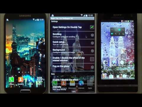 Обои На Телефон Андроид Ночной Город