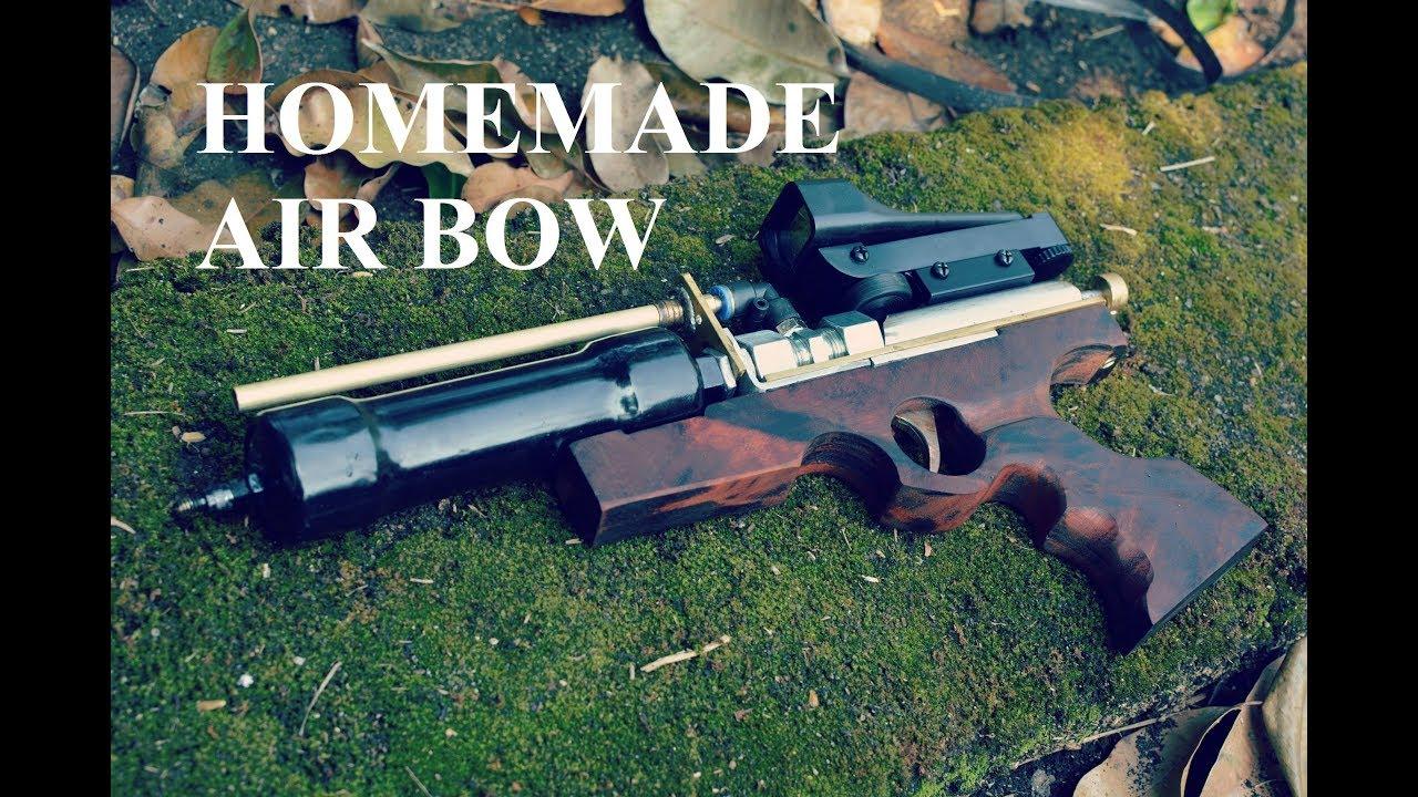 Homemade Powerful PCP Air Gun Arrow Shooting