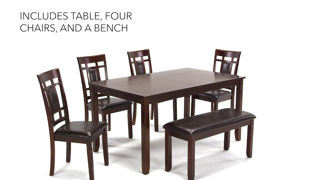 Ashley Homestore Bennox Dining Room Table And Chairs With Bench