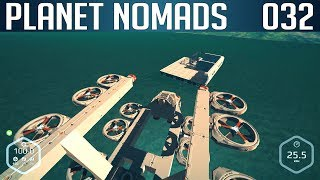 PLANET NOMADS #032 | Schwimmende Base | Let's Play Gameplay Deutsch thumbnail