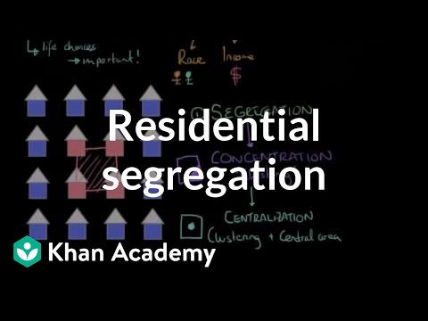 Residential segregation | Social Inequality | MCAT | Khan Academy