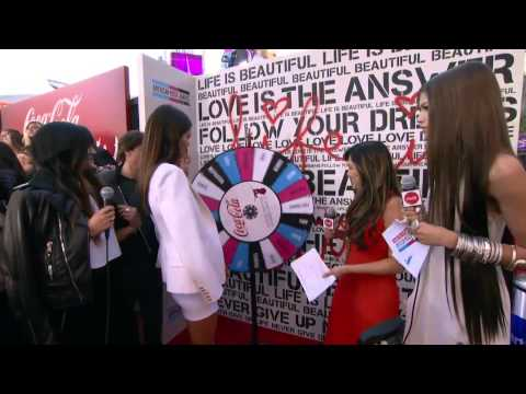 Kendall and Kylie Jenner Red Carpet Interview - AMAs 2013