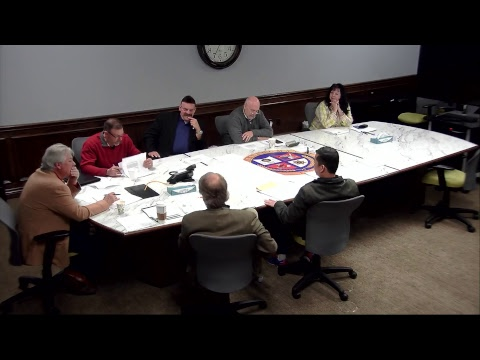 Infrastructure & PBA Advisory Committee 03/12/2018