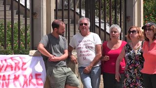 Agrigento, sit-in di solidarietà per Carola davanti al tribunale: