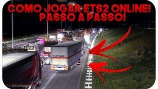 🔴 COMO JOGAR EURO TRUCK SIMULATOR 2 ONLINE! PASSO A PASSO!! 2017!
