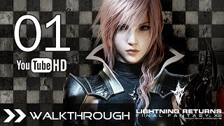 Lightning Returns Final Fantasy XIII Walkthrough Gameplay English Dub - Part 1 Opening No Commentary