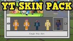 Minecraft XBOX / PE - YOUTUBER SKIN PACK Tutorial