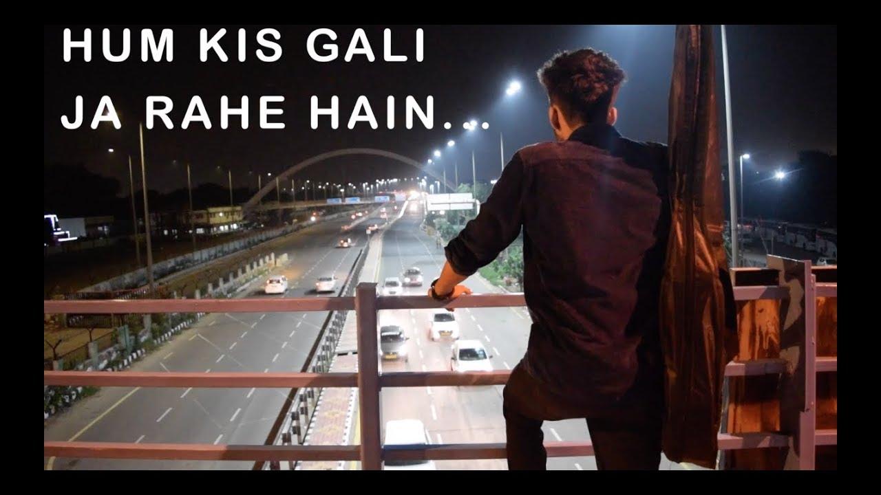 HUM KIS GALI JA RAHE HAI || cover song || Ajoonun || music