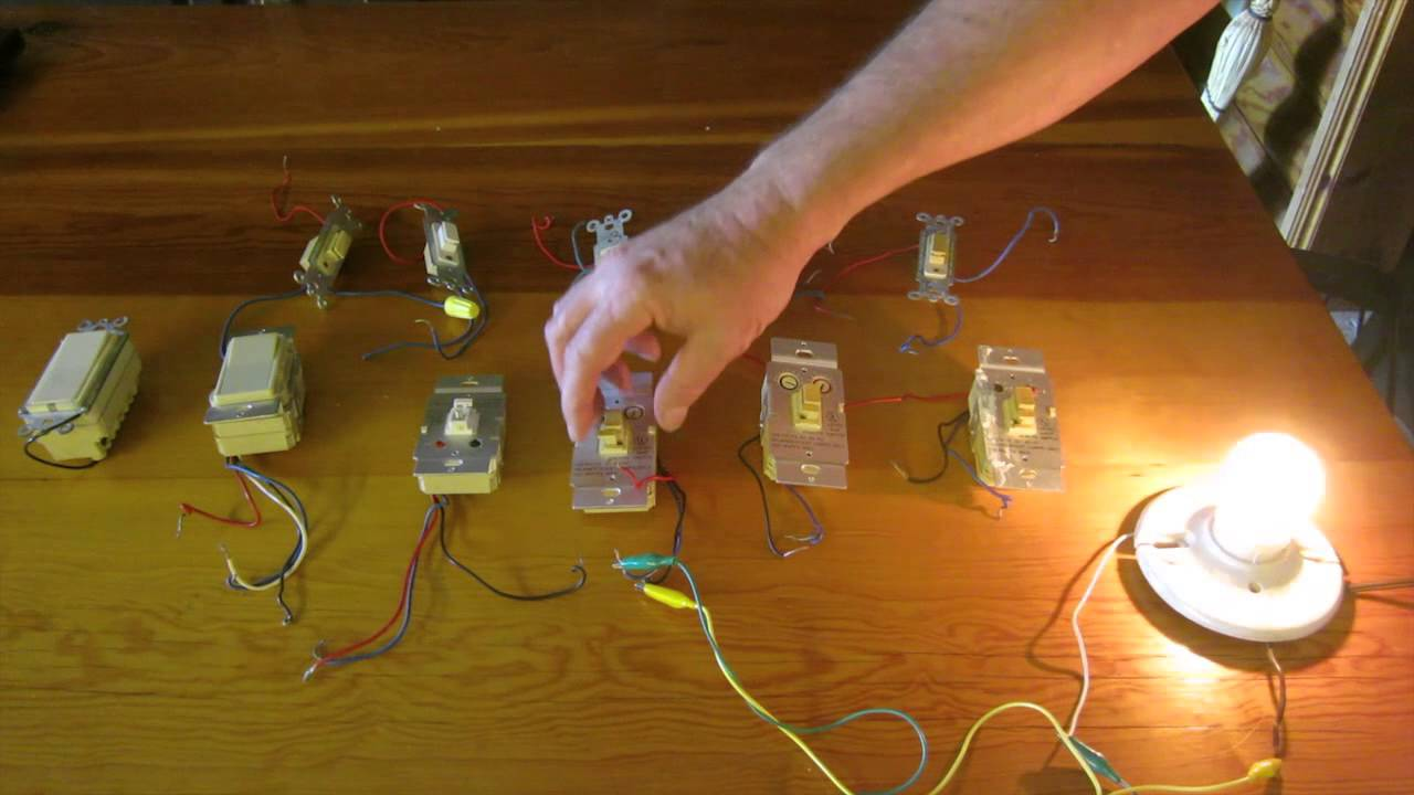 demo of x10 wall switch modification to provide local dimming at the rh youtube com X10 3-Way Switch Diagram x10 switch wiring