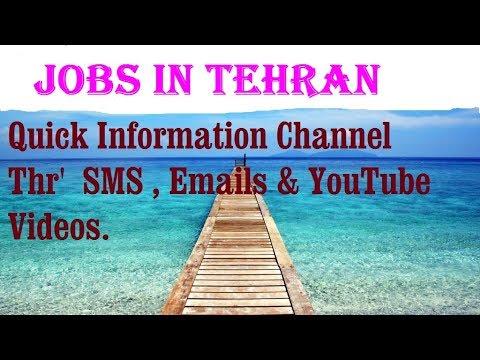 Jobs in TEHRAN   City for freshers & graduates. industries, companies. IRAN