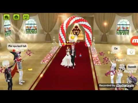 Nikah di game Avatar Music Indonesia, Akbar1927 💜 XxKagamixX