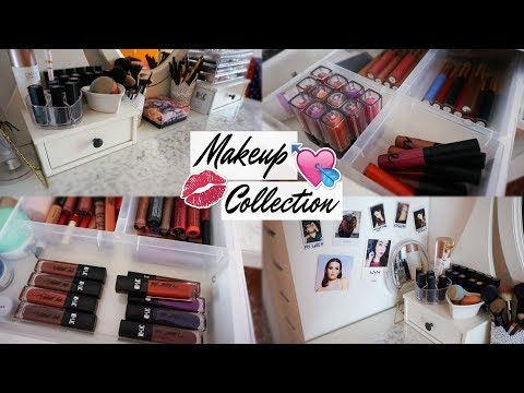 My Makeup Collection & Storage | 2017