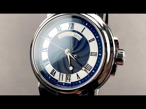 Breguet Marine Big Date 5817ST/Y2/5V8 Breguet Watch Review