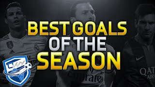 BEST FIFA 15 GOALS of the YEAR / BICYCLE KICK / AMAZING LONG SHOTS / SKILL COMBOS & More