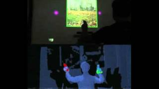Minority Report Holo GUI with Kinect Hack from MIT