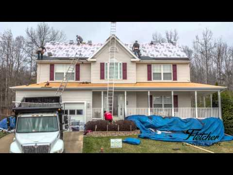Stafford Virginia Roof Replacement Time-lapse