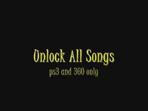 Rock Band Cheats P23 & XBox 260