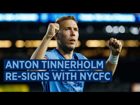 NYCFC Defender Anton Tinnerholm Agrees to New Multi-Year Contract