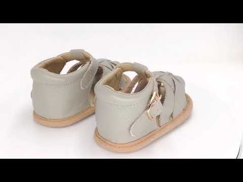 Summer Boys School Children Soft Sole Leather Toddler Baby Shoes Baby Sandals In Bulk
