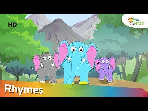 Haathi Aaya (யானை வந்தது) Nursery Rhyme For Children | Popular Tamil Rhymes | Shemaroo Kids Tamil