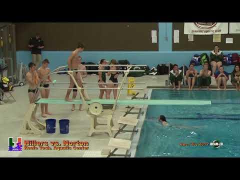 Hiller Varsity Swimming & Diving vs. Norton