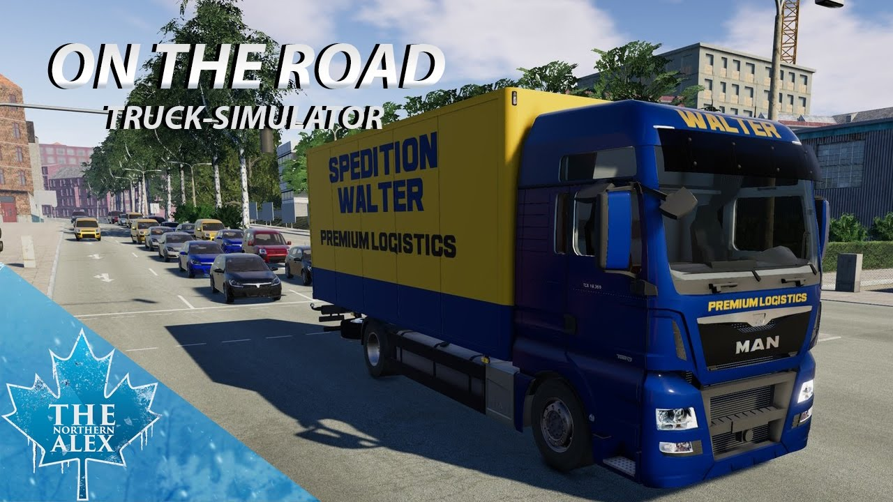 on the road truck simulator first look youtube. Black Bedroom Furniture Sets. Home Design Ideas