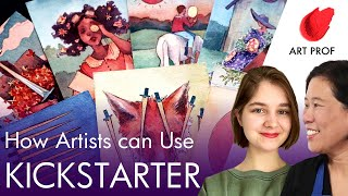 Kickstarter for Artists: My Successful Tarot Card Campaign