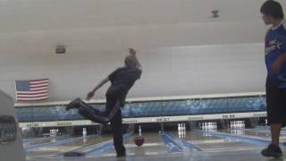Me bowling a 708
