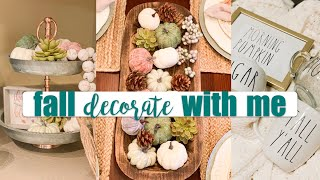 FALL DECORATE WITH ME | NEUTRAL AFFORDABLE DECOR