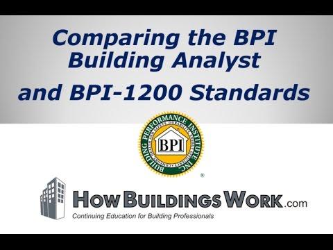 BPI BA vs. BPI-1200 - Lesson #1 - Intro