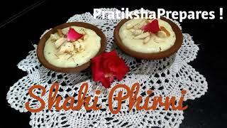 Delicious Recipes # 15 | Shahi Phirni | Exquisite Recipe