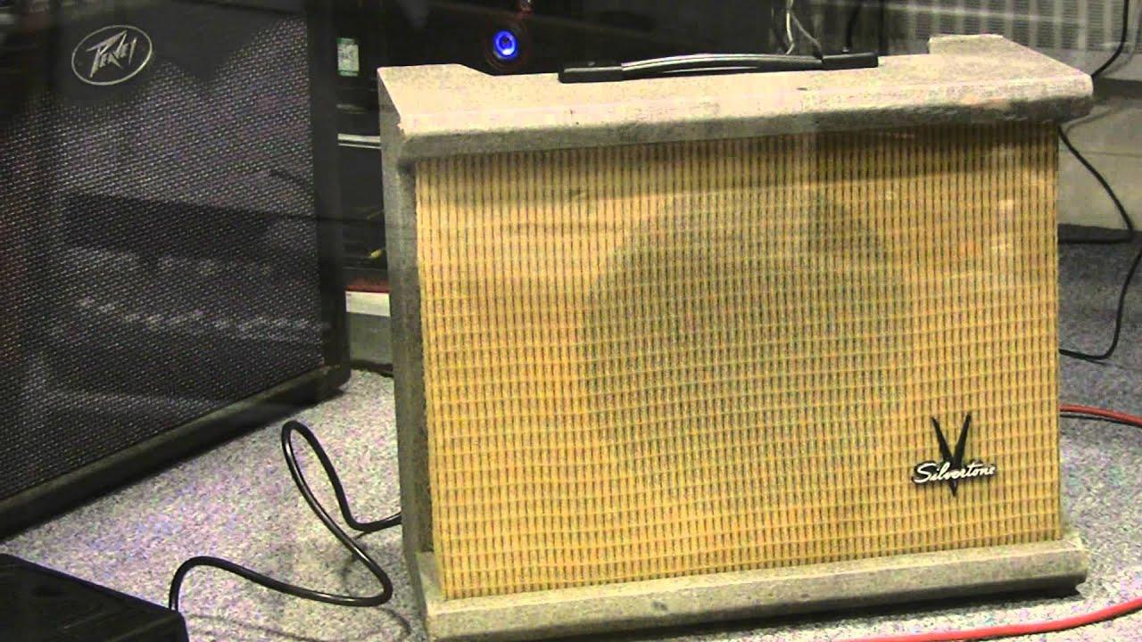 SILVERTONE 1432 vintage valve amp - YouTube