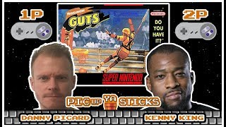 Nickelodeon GUTS vs Kenny King - PIC-up YA STICKS