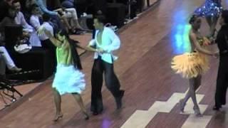 Cha Cha Cha - Ballroom Dance Competition - Todor Kondov & Snejana Slavova - Pomorie 2011