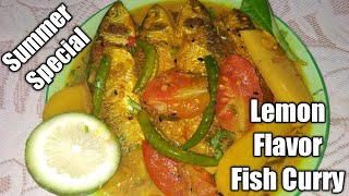 Lemon Fish Recipe |How To Make Lemon Fish Curry | Lemon Fish - Simple and Tasty