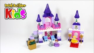 Repeat youtube video Lego DUPLO 10595 Sofia the First Royal Castle – Lego Speed Build for Kids