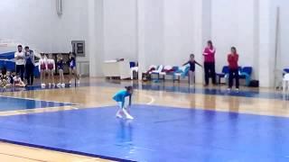 kızlar minikler B artistik cimnastik yer serisi - osman çakır