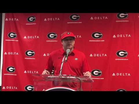 10/28:  KIRBY SMART Post Game vs. Florida Part 1