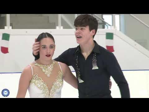 Camp. Ita. 2020: Giulia TUBA - Andrea TUBA - Junior Dance - Rhythm Dance