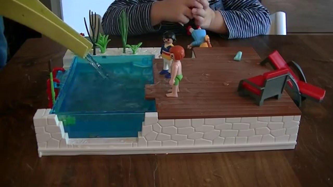 Lekker spelen in het water playmobil zwembad met terras 5575 youtube - Zwembad terras outs ...
