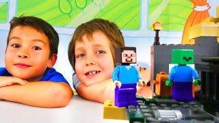 Minecraft Lego oyunu. Minecraft yaratıkları