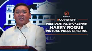 Harry Roque press briefing for Thursday, May 6