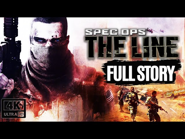 SPEC OPS: THE LINE All Cutscenes Full Story (Game Movie) @ 4K 60FPS