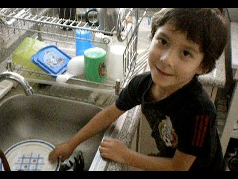 CMO LAVAR LOS TRASTES  HOW TO WASH THE DISHES  YouTube