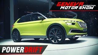 Skoda Vision X - CNG-Petrol-Electric hybrid compact SUV : Geneva Motor Show 2018 : PowerDrift
