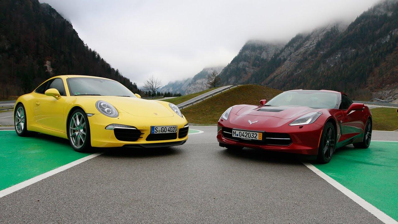 Porsche 911 vs. Corvette C7 - GRIP - Folge 317 - RTL2