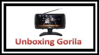 unboxing Gorila mini tv naxa nt 70 portatil y para consolas